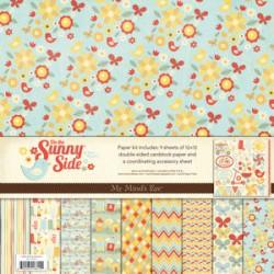 "Комплект от дизайнерски хартии 12"" х 12"" - My Minds Eye  - On the Sunny Side - Paper & Accessories Kit"