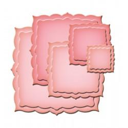 Шаблон за изрязване и релеф рамки - Spellbinders - Label Twenty-Six Spellbinders Nestabilities