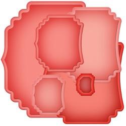 Шаблон за рязане и релеф - Spellbinders - Labels Thirty-Seven Nestabilities Labels