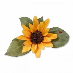 Шаблони за рязане и релеф слънчоглед - Sizzix - Thinlits Dies - Flower, Sunflower