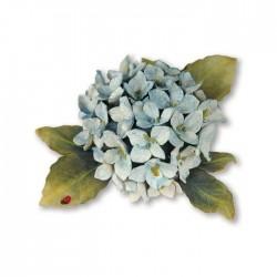 Шаблон за изрязване хортинзия - Sizzix Thinlits Die Set 5PK - Flower, Hydrangea