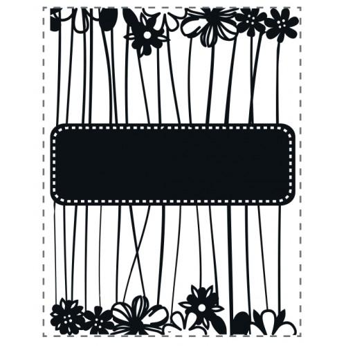 Ембосинг папка - Ultimate crafts - Embossing Folder - Daisy Message