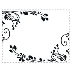 Ембосинг папка - Ultimate crafts - Embossing Folder - Flourished Cornes