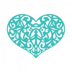 Шаблон за изрязван и релеф сърце с орнаменти - Ultimate crafts - Ornate Heart