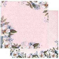 """Комплект от 5бр. двустранни дизайнерски листи 12"""" х 12"""" - 12 x 12"""" Magnolia Borders"""