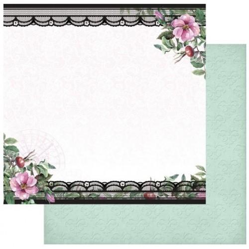 """Комплект от 5бр. двустранни дизайнерски листи 12"""" х 12"""" - 12 x 12"""" Magnolia Lane Collection"""