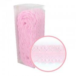 Декоративна розова дантела - 10 ярда - Magnolia Lane Pink Decorative