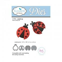 Тънка метална щанца калинка - Ladybug Steel Cutting Die