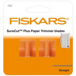 2бр. титаниеви резервни ножчета за тример Fiskars SureCut Plus - Titanium Blades X2 - Straight