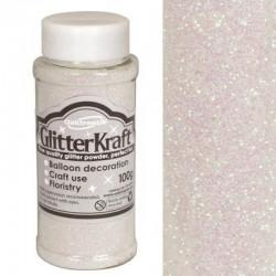 Фин крафт брокат с преливащи се цветове - 100гр. - Glitter Kraft Fine Glitter 100g Bottle Iridescent No.42