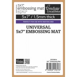 "Универсална силиконова подложка за релеф - Ultimate Crafts - Universal Embossing Mat 5"" х 7"""