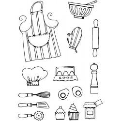 Силиконови печати - кухненски прибори - Personal impressions - Kitchen Bits