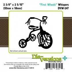 Щанца за изрязване и релеф детско колело - Die-Versions - Whispers - First Wheels