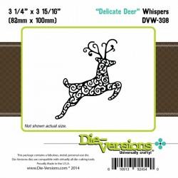 Щанца за изрязване и релеф елен елен - Die-Versions - Whispers - Delicate Deer