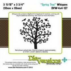 Универсална метална щанца - Die-Versions - Whispers - Spring Tree