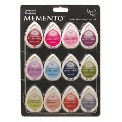 Комплект от 12 мини мастила - Memento - Memento 4 Piece Set Sorbet Scoop