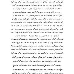 Фонов силиконов печат - любовни писания - Art Stamps - MM Love Story Script