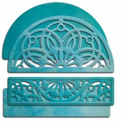 Универсална щанца за рязане полукръг - Spellbinders - Arched Elegance