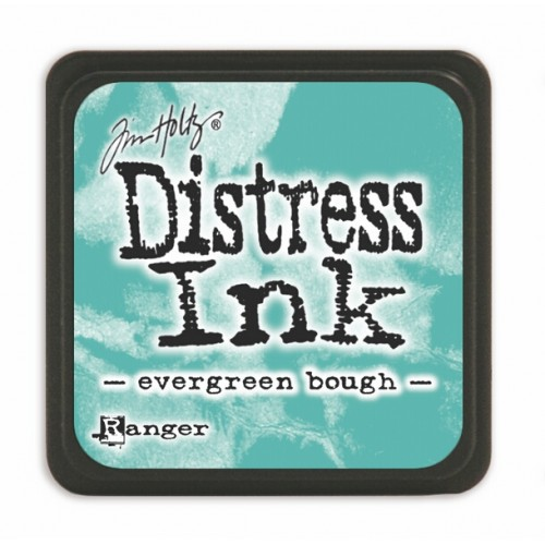 Мини дистрес мастило - Tim Holtz - Evergreen Bough mini ink pad
