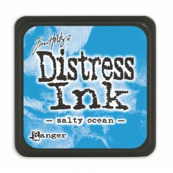Мини дистрес мастило - Tim Holtz - Salty Ocean mini ink pad