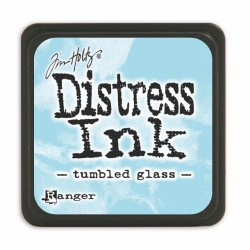 Мини дистрес мастило - Tim Holtz - Tumbled Glass mini ink pad