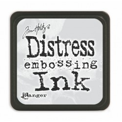 Мини ембосинг дистрес мастило -  Tim Holtz - Distress Mini Embossing Ink Pad