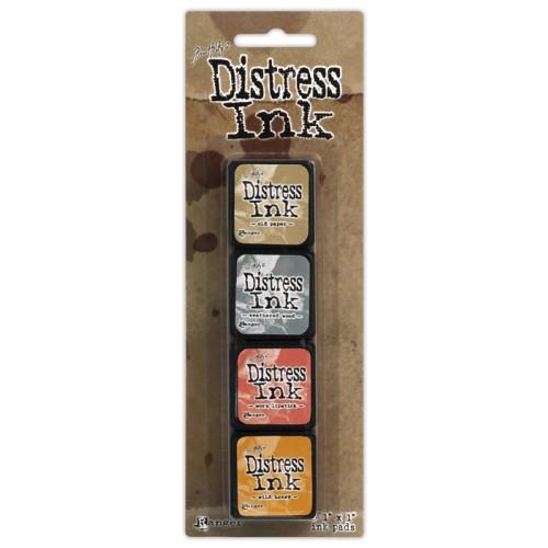 Комплект от 4бр. мини дистрес мастила - Tim Holtz - Distress Mini Kit 7