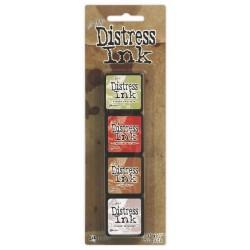 Комплект мини дистрес мастила - Tim Holtz - Distress Mini Ink Kit 11