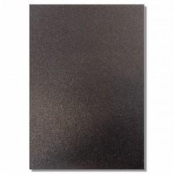 Качествен брокатен картон - черен - A4 -  Glitter Card - Jet (Black) - 220гр.