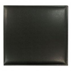 Скрапбук албум с черни кожени корици - Grace Taylor Scrapbook Album - Basic Black Chronicle