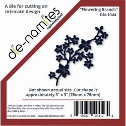Универсална щанца за изрязване - Die namites - Flowering Branch