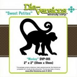 Универсална щанца за изрязване - Die version - Sweet Petites - Monkey