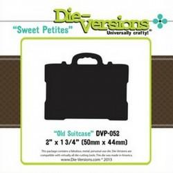 Универсални шаблони за рязане и релеф - Die Versions - Sweet Petites - Old Suitcase