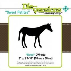 Универсален шаблон за изрязване и релеф - Die Versions - Sweet Petites - Horse