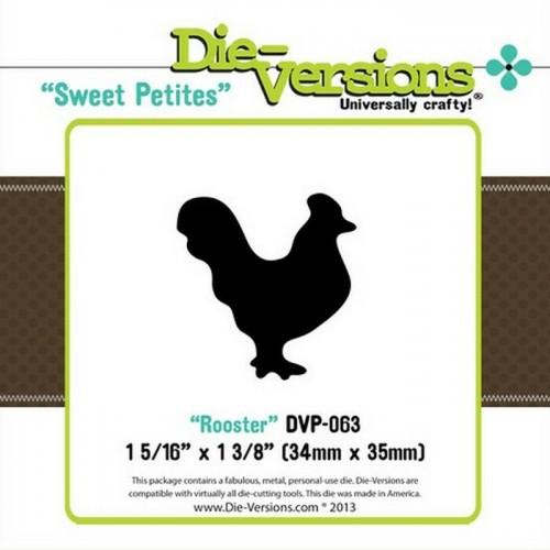 Универсална щанца за рязане - Die version - Sweet Petites - Rooster