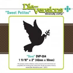 Универсален шаблон за изрязване и релеф - Die Versions - Sweet Petites - Dove