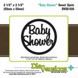 Универсална щанца за изрязване - Die Versions - Sweet Spots - Baby Shower