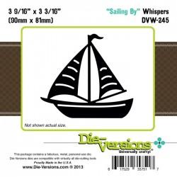 Универсална щанца за изрязване .лодка - Die Versions - Whispers - Sailing By