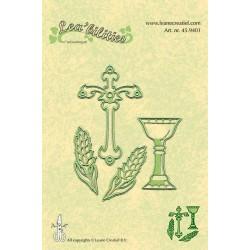 Универсални шаблони за рязане и релеф кръст, житни класове - Lea'bilities - Special Occasions 1
