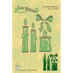 Универсални шаблони за рязане и релеф свещички - Lea'billities - Candles