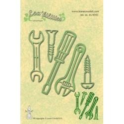 Универсални шаблони за рязане и релеф отвертка, болт, винт, гаечен ключ - Leabillities - Stencil Tool