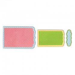 Щанца за изрязване банер/надпис - Sizzix - Sizzix Framelits Die Set 6PK - Banners, Fancy