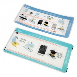 Платформа - Sizzix Accessory - Solo Platform & Shim (Light Blues)