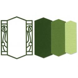 Универсална щанца за рязане - Sizzix Framelits Die Set 3PK - Frame, Ironwork