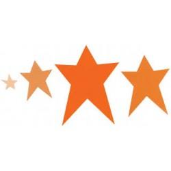 Универсална щанца за рязане звезди - Sizzix Framelits Die Set 4PK - Stars, Primitive