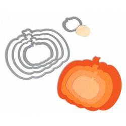 Универсална щанца за рязане - тиква/тикви - Sizzix Framelits Die Set 5PK - Pumpkins