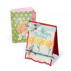 Sizzix Bigz XL Die - Card Fronts, Bracket & Ticket