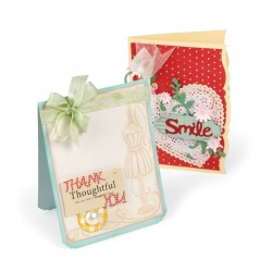 Sizzix Bigz XL Die - Card Fronts, Notched & Beveled