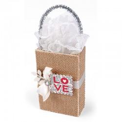Щанце за изрязване на чантичка - Sizzix -  ScoreBoards XL Die - Bag, Coupon/Mini Shopping