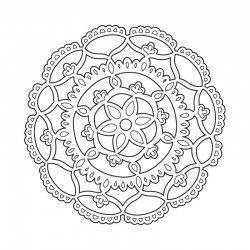 Шаблон за изрязване - Sizzix Thinlits Die - Doily